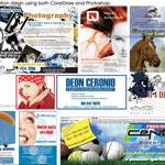 Various adverts.