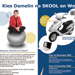 Full page advert used in the Passi as part of the damelin enrollmant campaign.