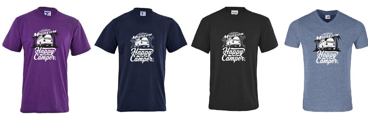 Happy Camper Volskie mUseum Assorted T-shirts